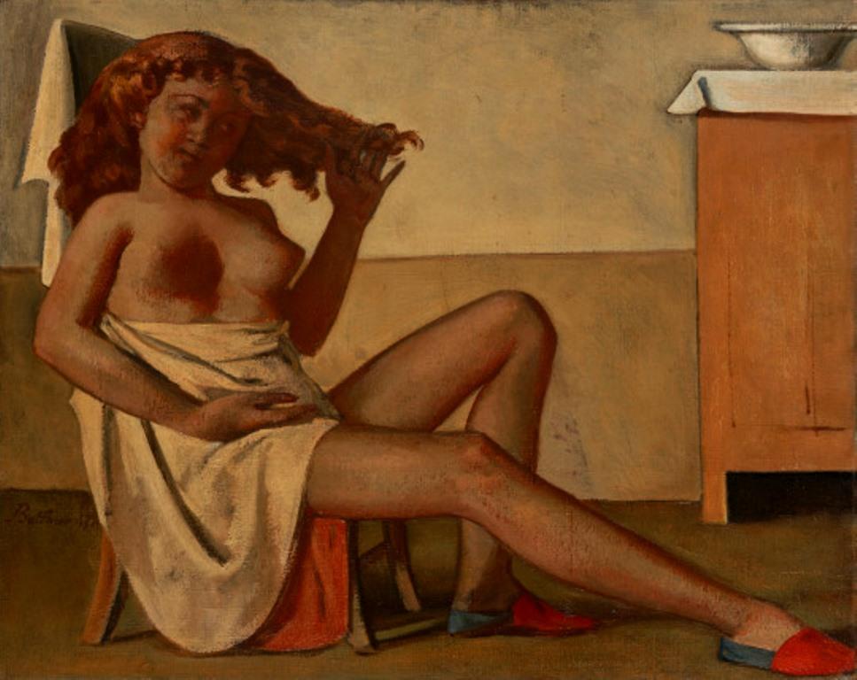 Balthus. Adolescente aux cheveux roux 1947