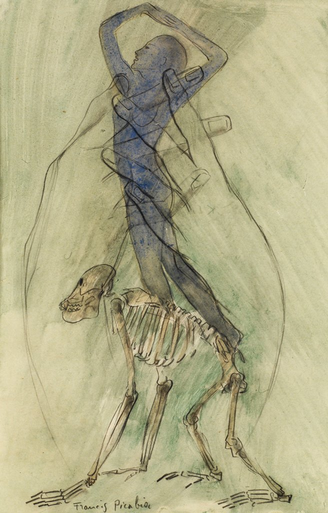 Francis Picabia. Transparence vers 1930