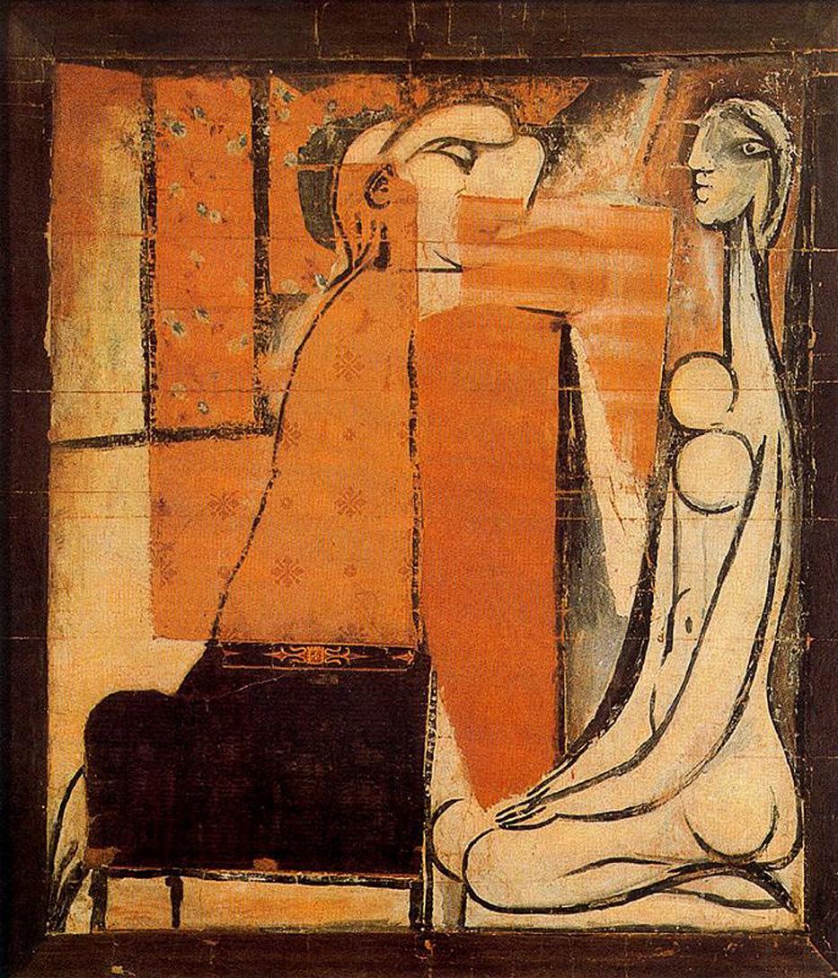 Pablo Picasso. Deux femmes (La confidence) 1934