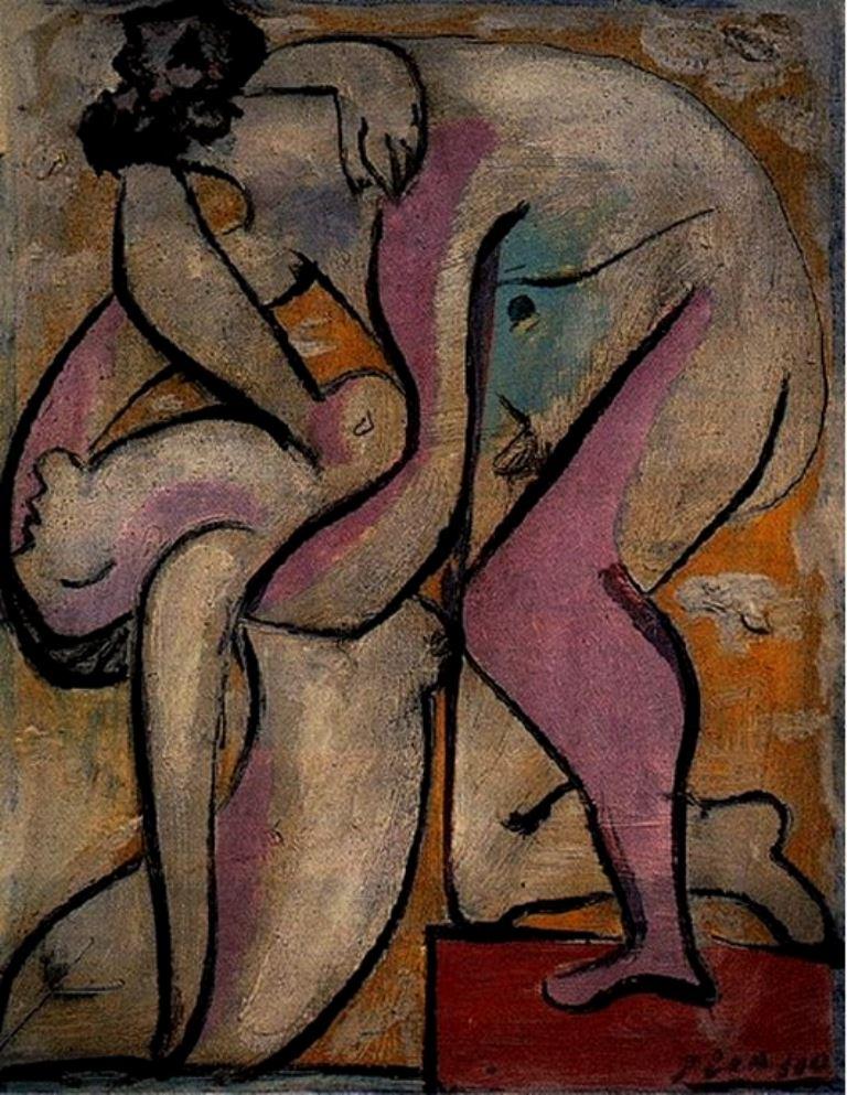 Pablo Picasso. Le sauvetage 1932