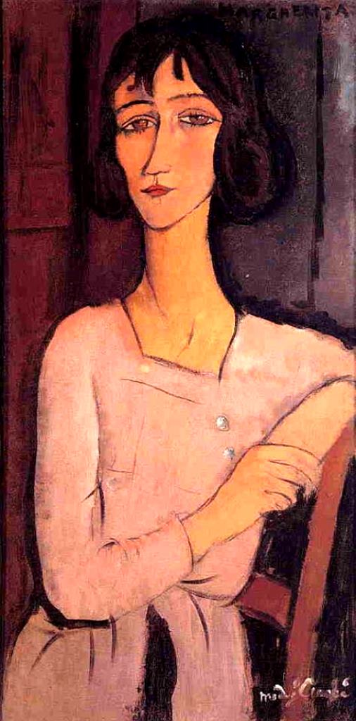 Amedeo Modigliani. Marguerite seated 1916