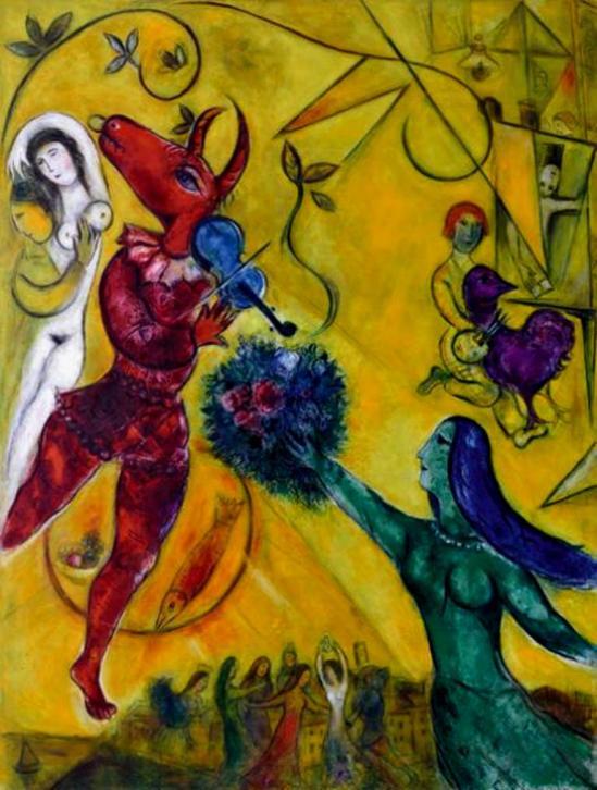 Marc Chagall. La danse 1950-1952. ® RMN