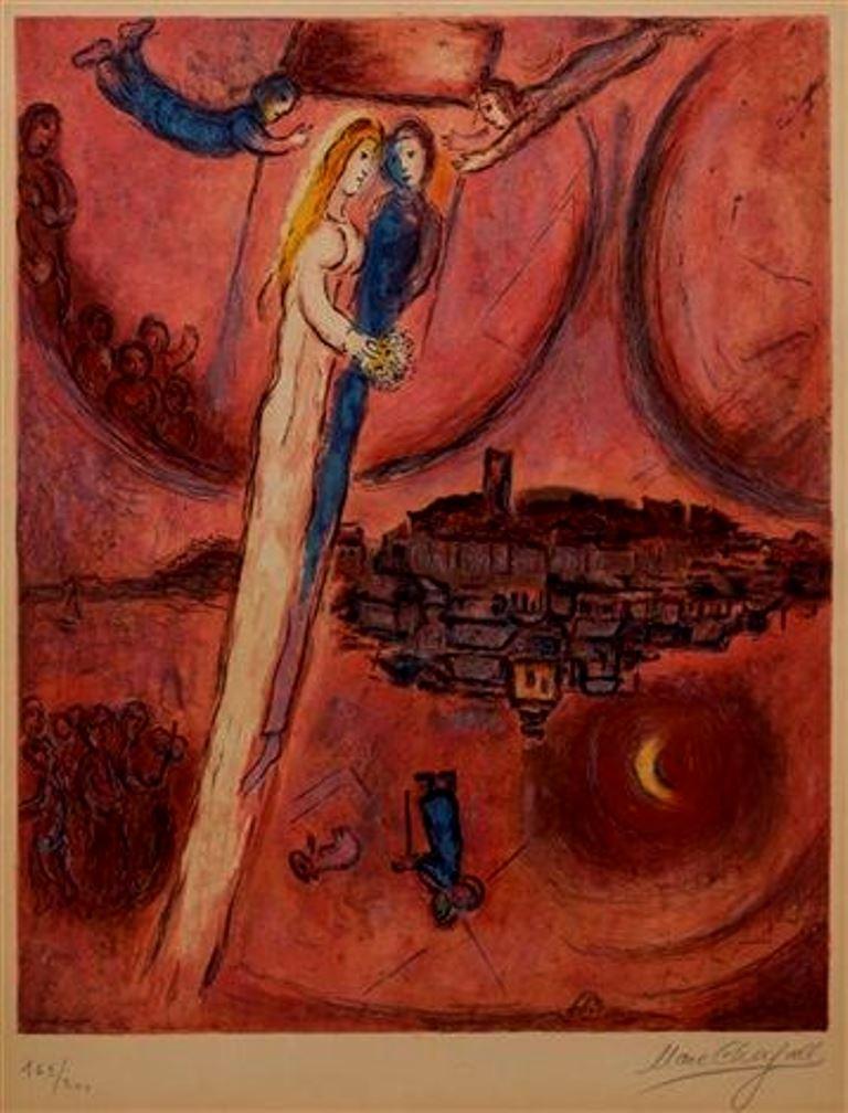 Marc Chagall. Le cantique des cantiques 1975