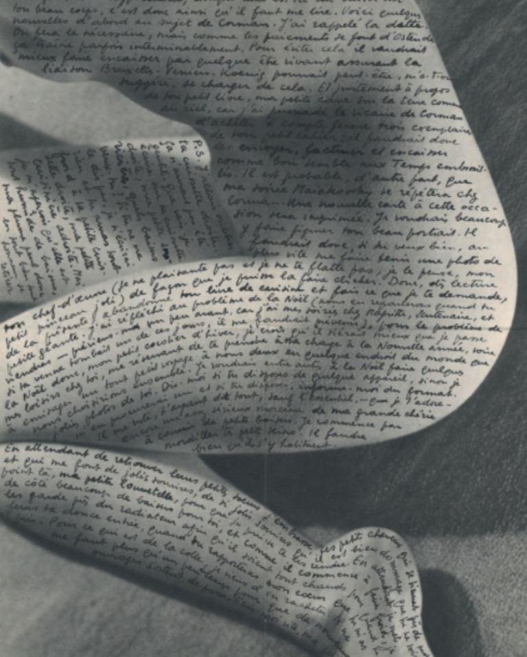 Marcel Mariën. Lettre à Jane Graverol 1954. Via gatakka on tumblr.