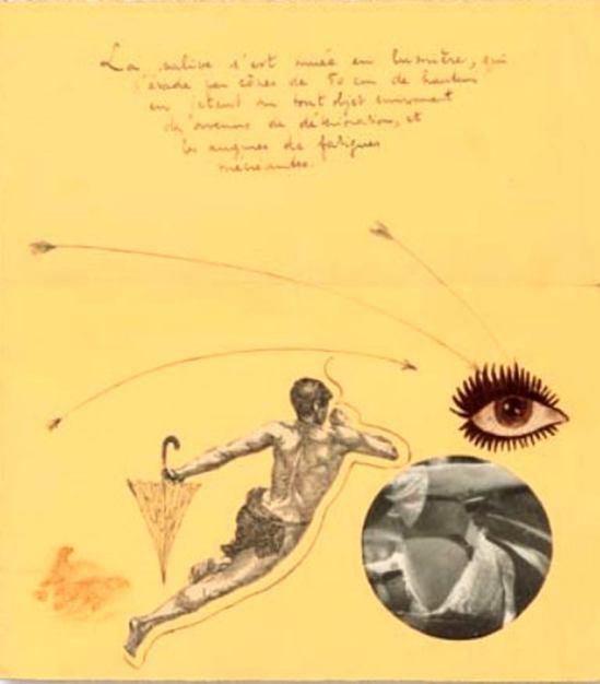 Marcel Mariën1. Lettre collage. Undated. Via belgian-heritage
