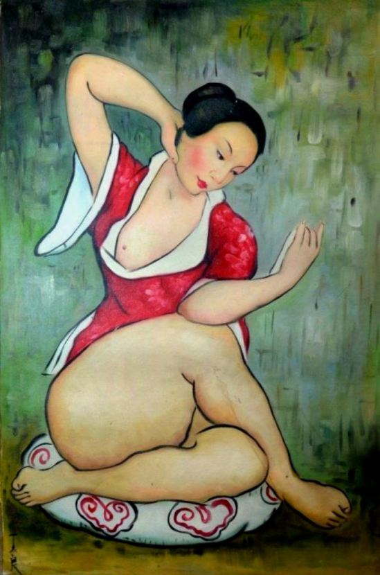 Pan Yuliang. Via womeninarthistory on tumblr