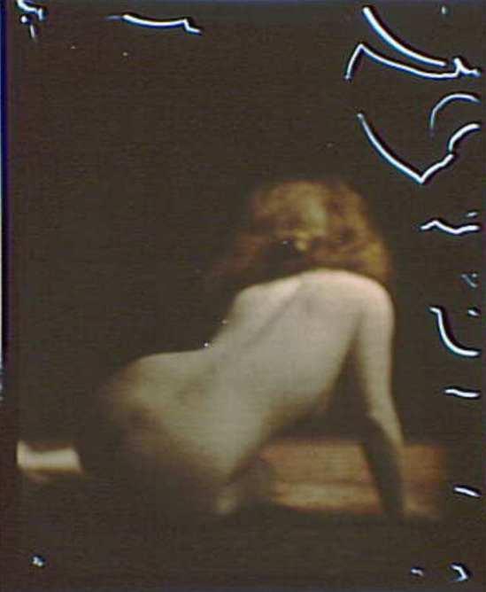 Arnold Genthe . Nude study. Autochrome.Via loc.gov