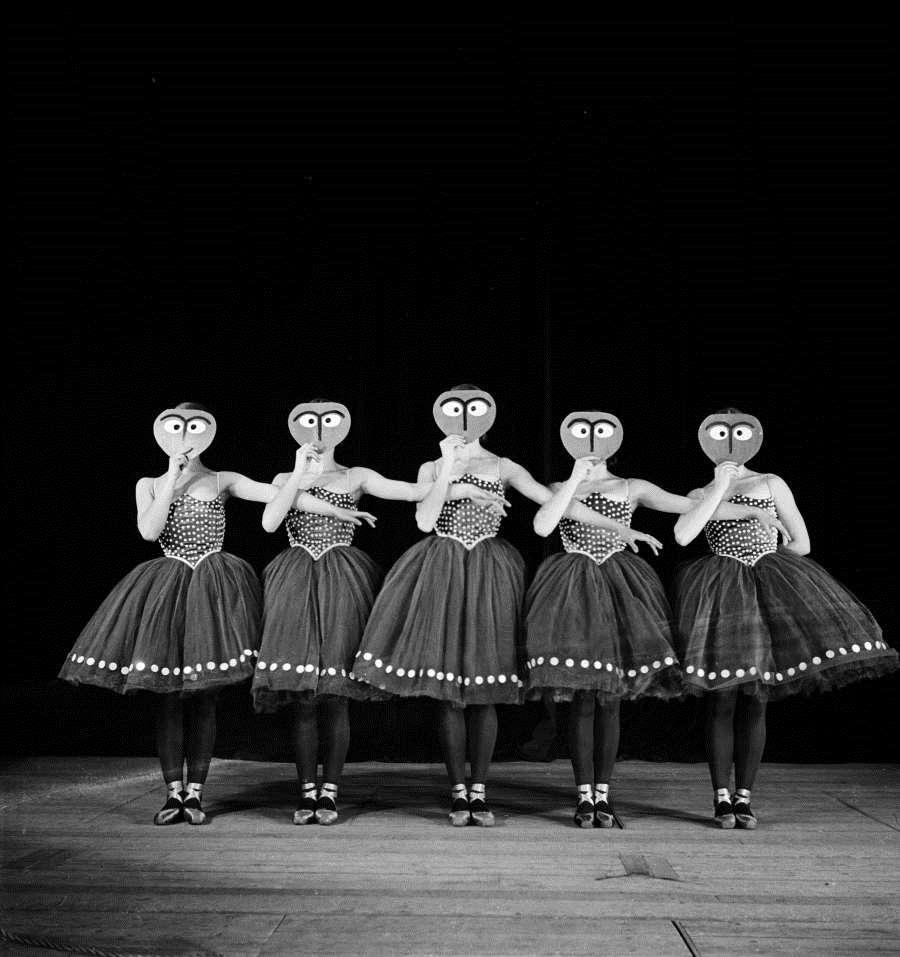 Boris Lipnitzki. Les songes, Balanchine's ballet 1933. Via getty