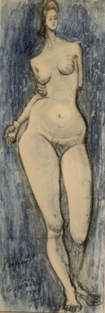 Brassaï. From Trente dessins. Editions Pierre Tisné