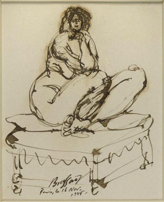 Brassaï. Nu féminin 1944 ®RMN