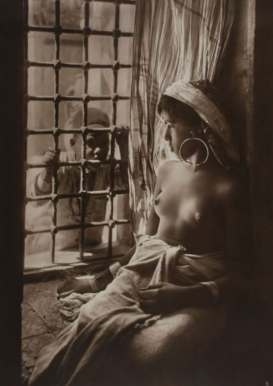Lehnert & Landrock. Harem girl, Tunisia 1915. Via bloomsburyauctions