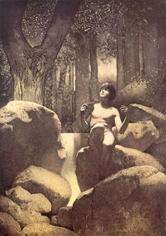 Maxfield Parrish. Pan 1911