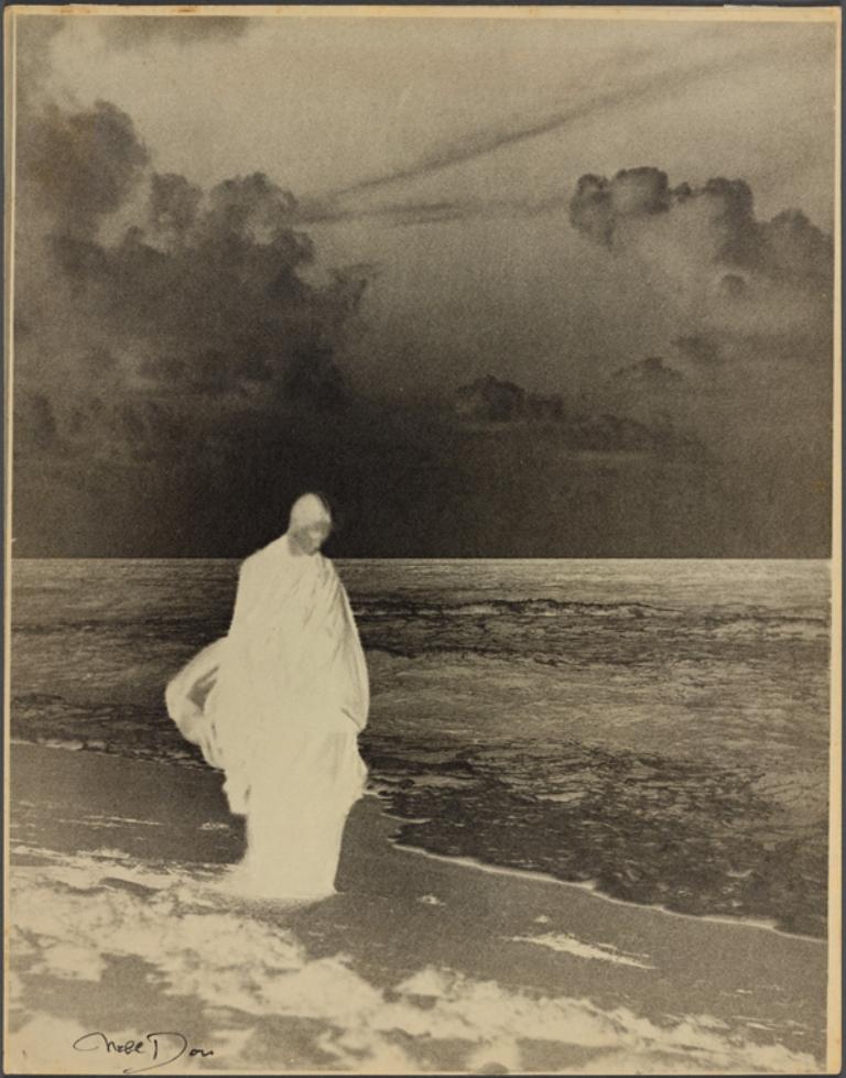 Nell Dorr. Study in black and white 1926. Via nypl
