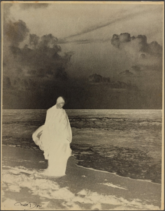 Nell Dorr. Study in black and white 1926. Via nypl
