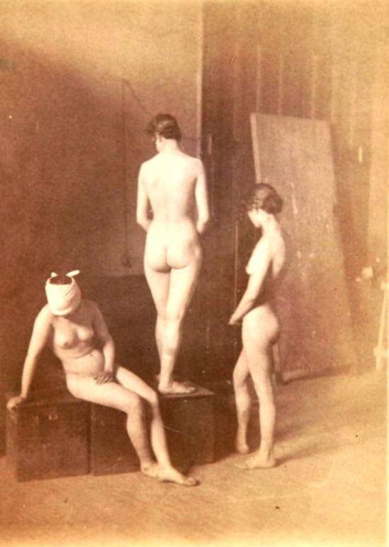 Thomas Eakins. Three female nudes 1883. Via thomaseakins