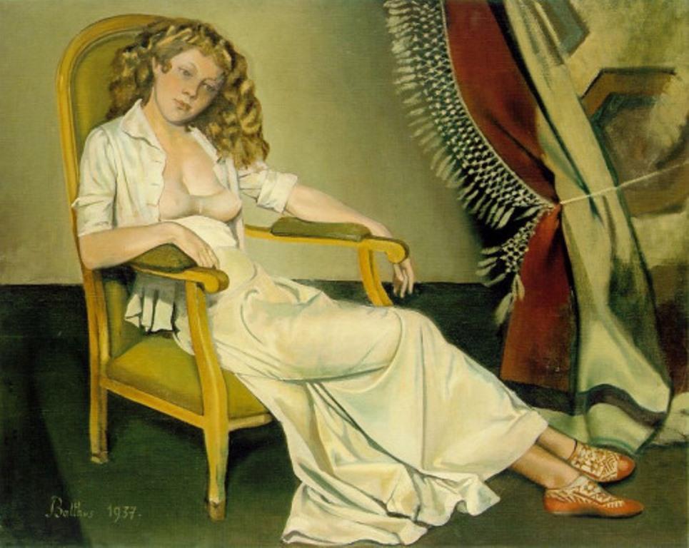 Balthus. The white skirt 1937