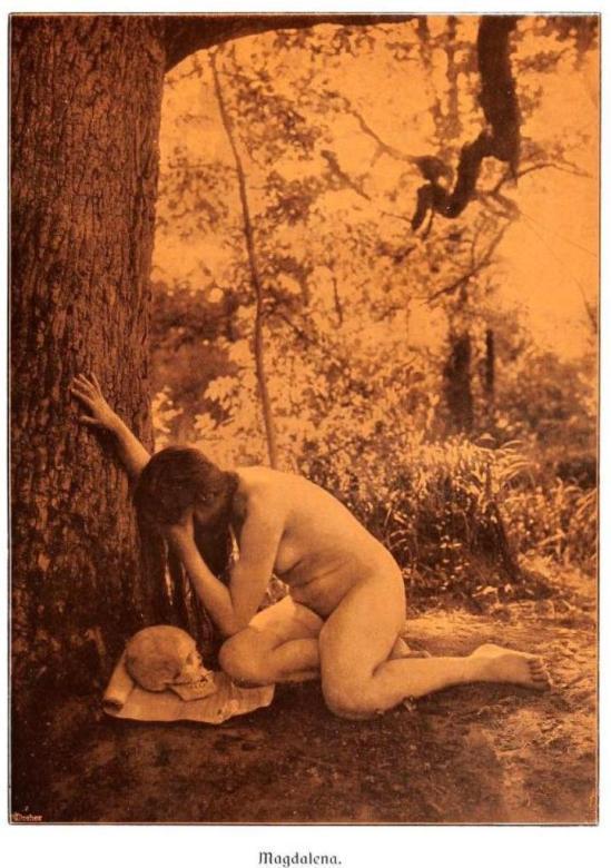 From the book Weibliche Schönheit. Kritische Betrachtungen über die Darstellung des Nackten in Malerei und Photographie. Dr. B
