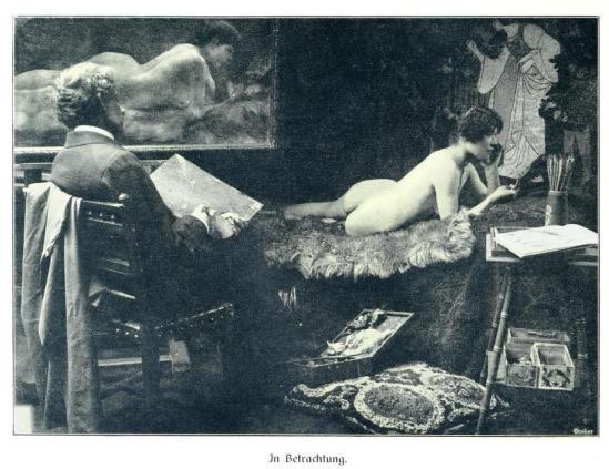 Kritische Betrachtungen über die Darstellung des Nackten in Malerei und Photographie 1