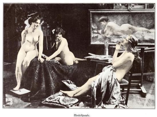 Kritische Betrachtungen über die Darstellung des Nackten in Malerei und Photographie 12
