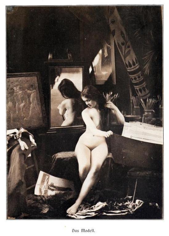 Kritische Betrachtungen über die Darstellung des Nackten in Malerei und Photographie 5