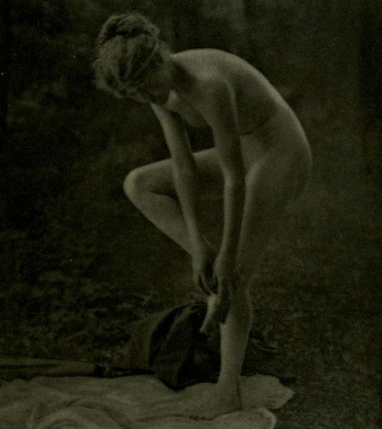 Louis J. Steele. Nude 1918. Via wiki