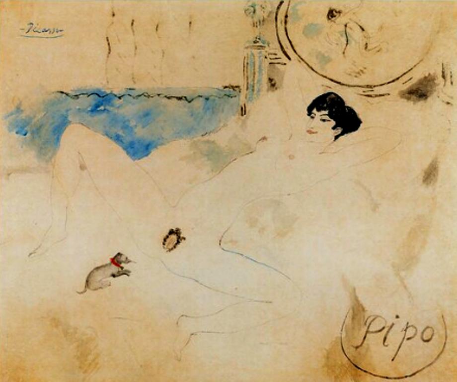 Pablo Picasso. Pipo 1901