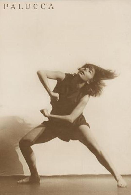 Charlotte Rudolph. Palucca 1926. Via arnet