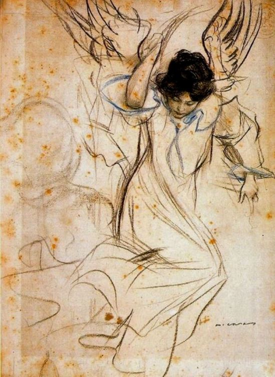 Ramon Casas i Carbó. Angel