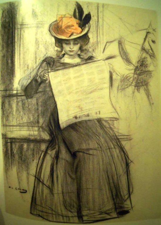 Ramon Casas i Carbó.  Sans titre 1900