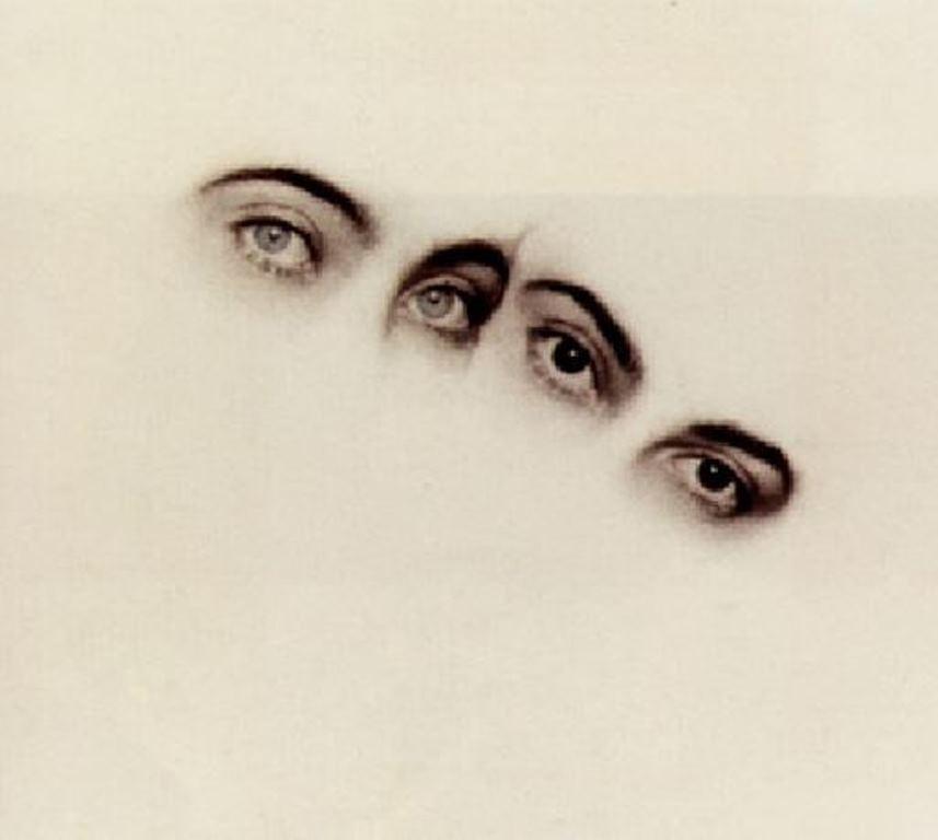 Rudolf Koppitz. Augen 1928. Via artnet