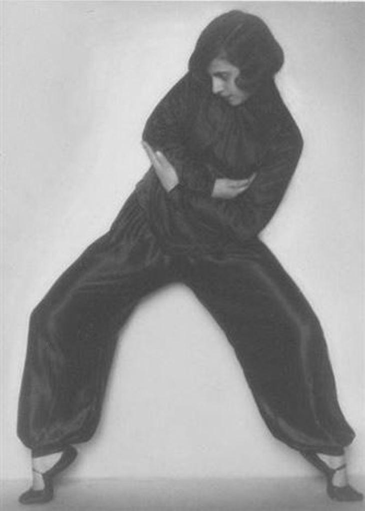 Rudolf Koppitz. Dancer 1925. Via artnet