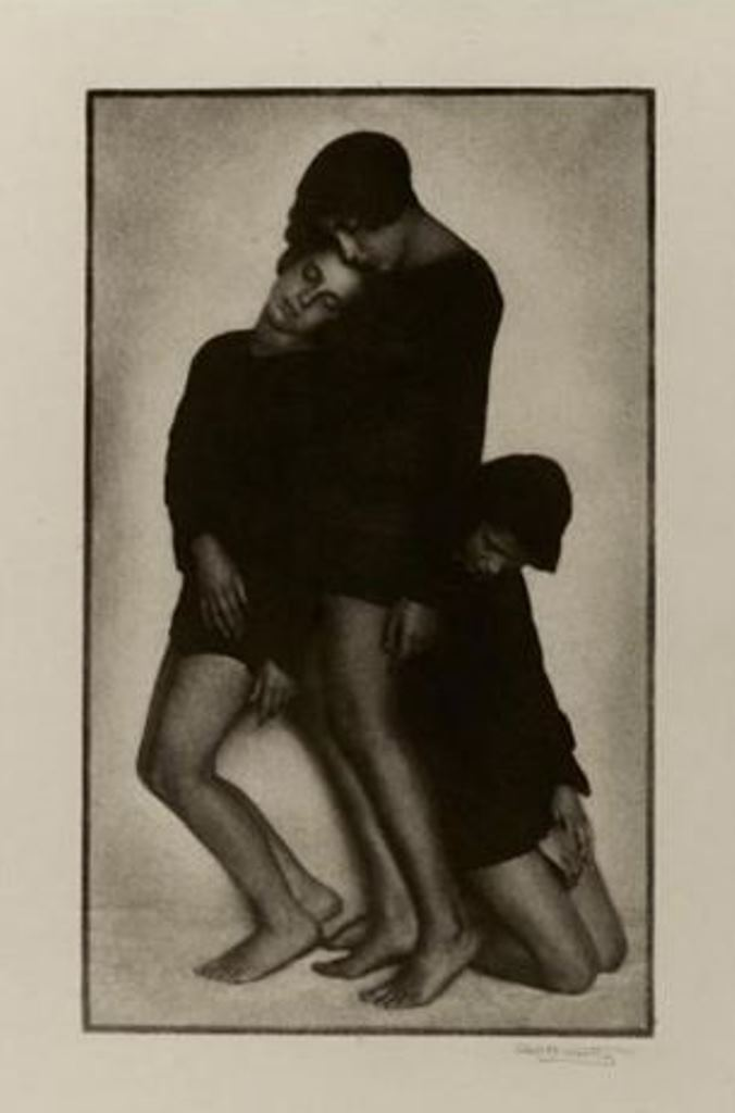Rudolf Koppitz. Mädchen 1923. Via artnet