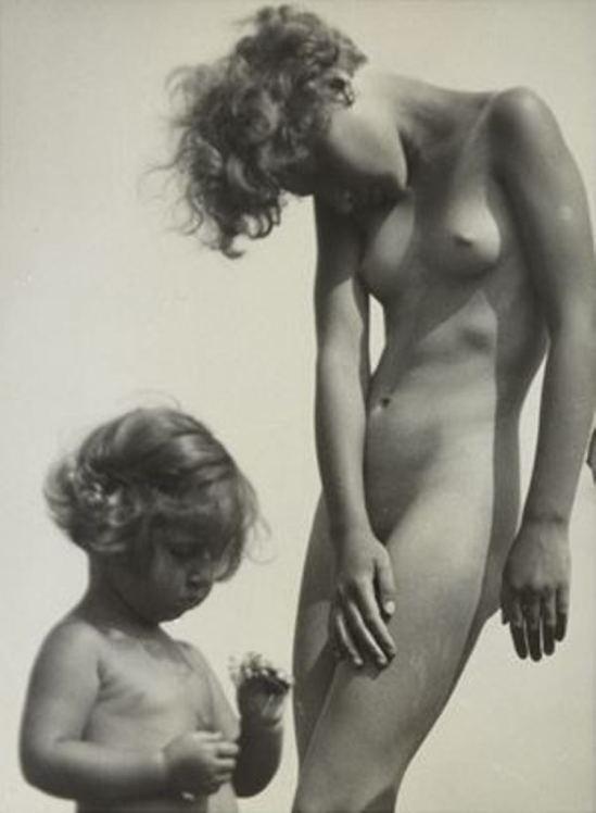Rudolf Koppitz. Nude study 1928. Via artnet