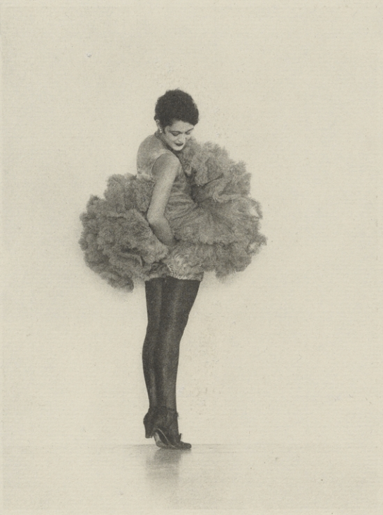 Arthur F. Kales. Female 1dancer in tutu1920. Via getty