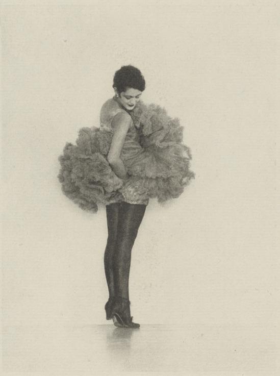 Arthur F. Kales. Female 1dancer in tutu1920. Via getty