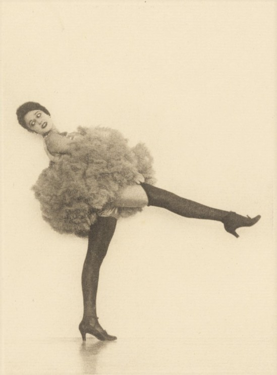 [Female Dancer in Tutu]