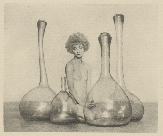 Arthur F. Kales. Female Nude with Bottles] before 1926. Via getty