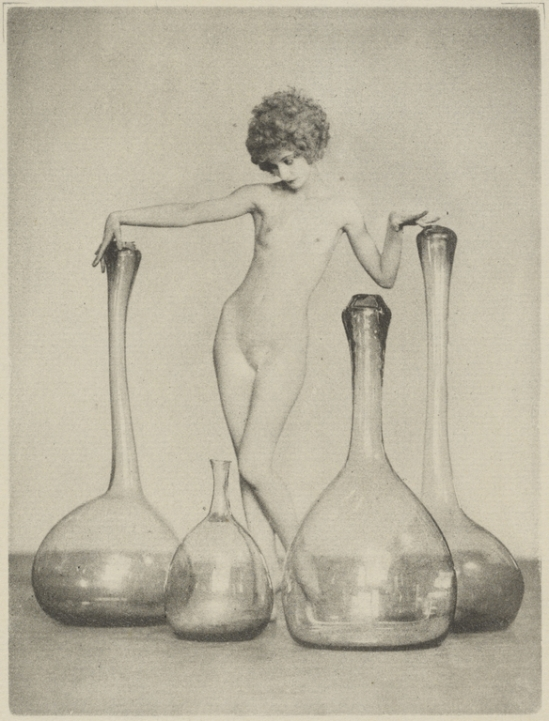 Arthur F. Kales. Nude and glass 1926. Via getty