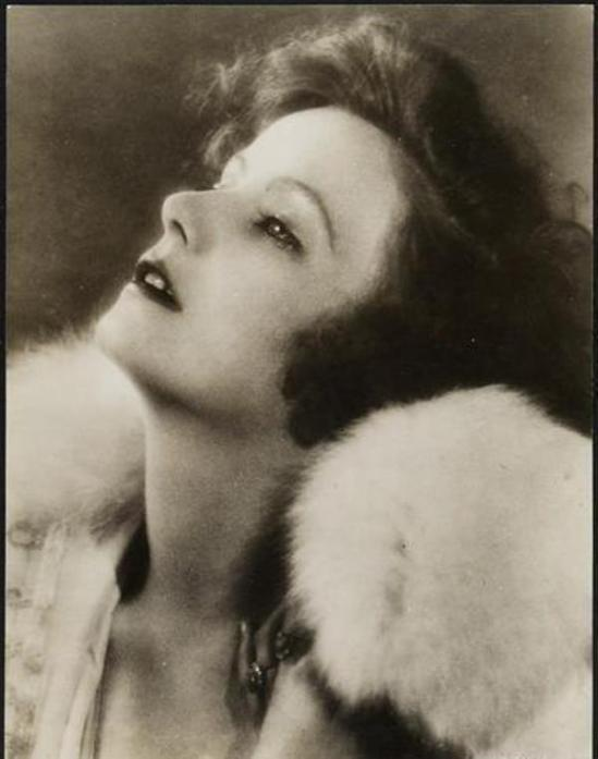 Rudolf Leutner. Greta Garbo ®Theatermuseum Wien