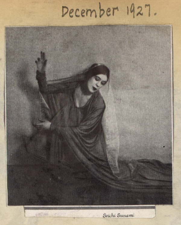 Soichi Sunami. Martha Graham 1927. Via libraryofcongress