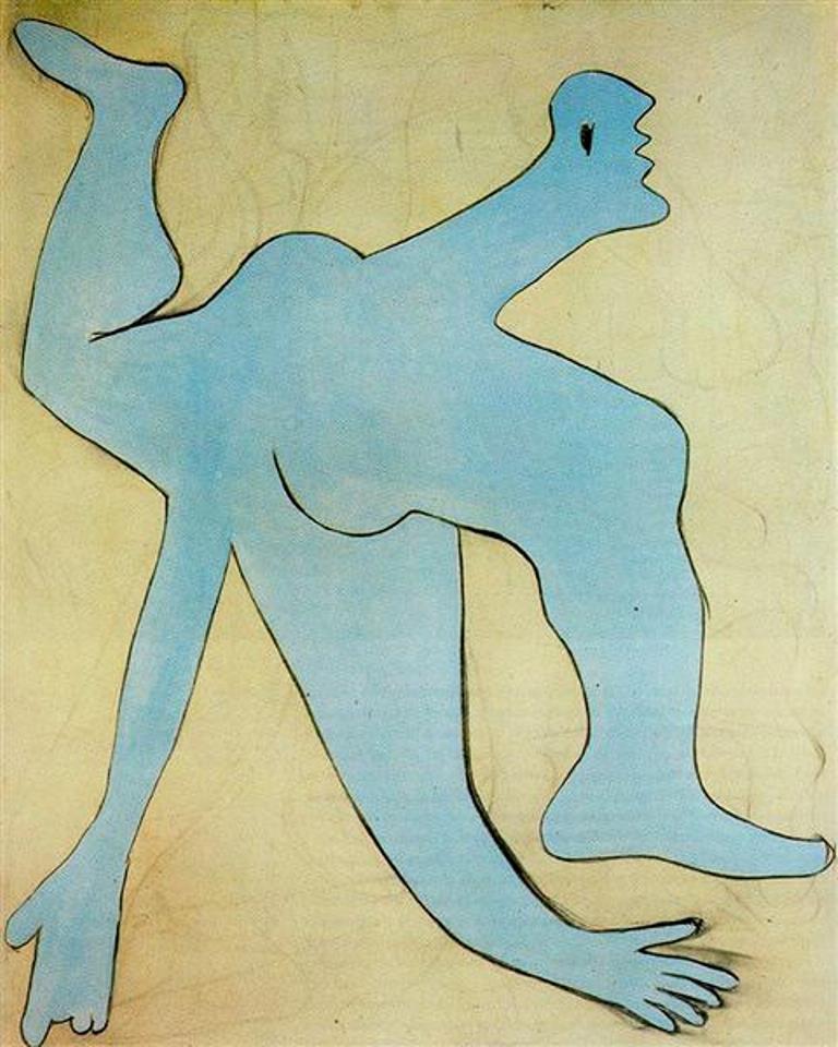 Pablo Picasso. L'acrobate bleu 1929 ©Succession Picasso