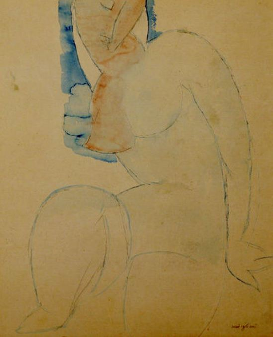 amedeo-modigliani-cariatide-1912-1914