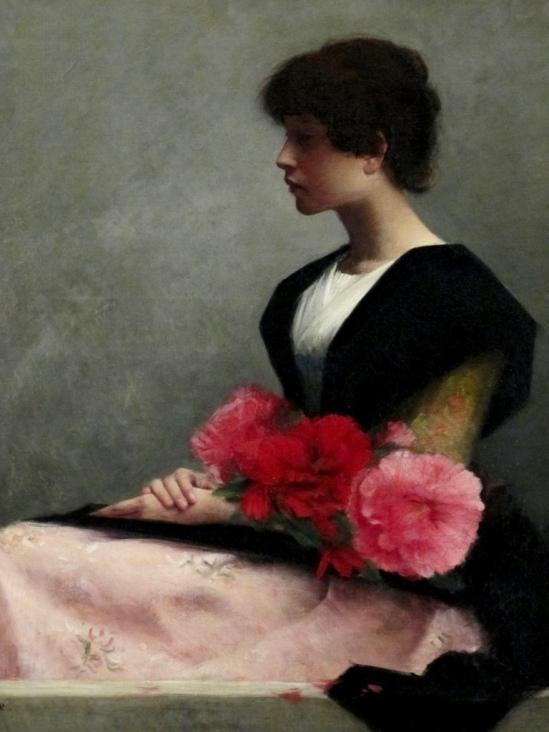 alfred-pierre-agache-jeune-fille-assise-tenant-des-fleurs-dans-les-bras-1889-via-pierrotgourmand-on-tumblr