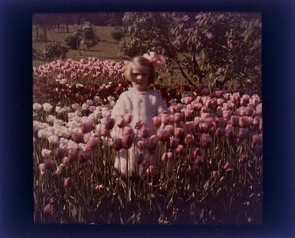 charles-c-zoller-child-in-tulips-1925-autochrome-via-eastmanuseum