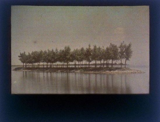 charles-c-zoller-island-of-trees-along-river-1929-autochrome-via-eastmanuseum