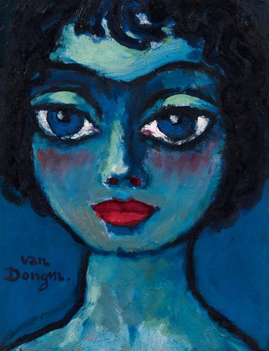 kees-van-dongen-symphonie-bleue-1920