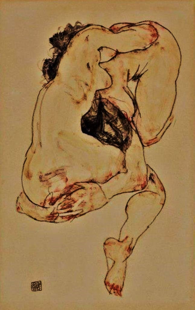 egon-schiele-study-of-a-couple-via-goldennothing-on-tumblr