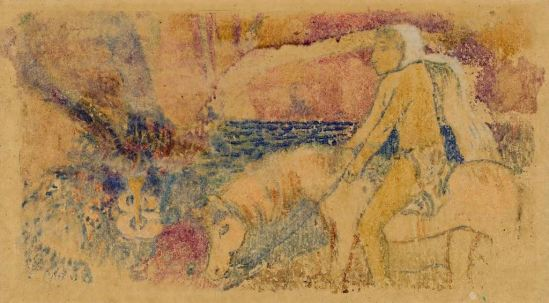 paul-gauguin-the-pony-1902-pastel