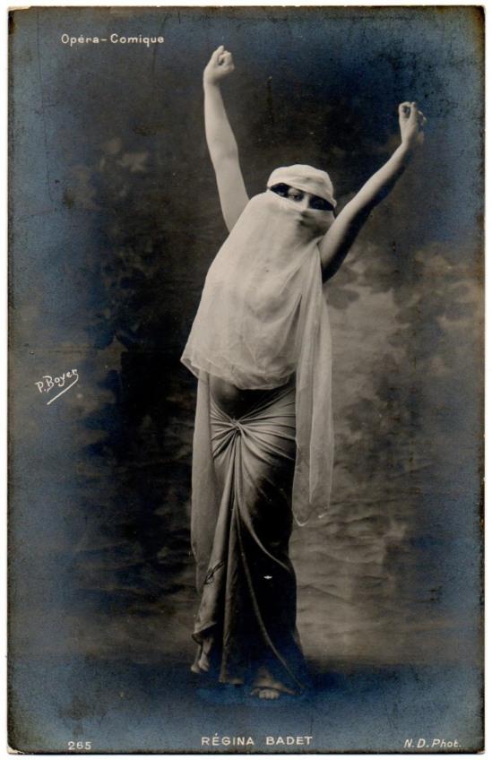 regina-badet-danseuse-voilee-opera-comique-postcard-via-delcampe