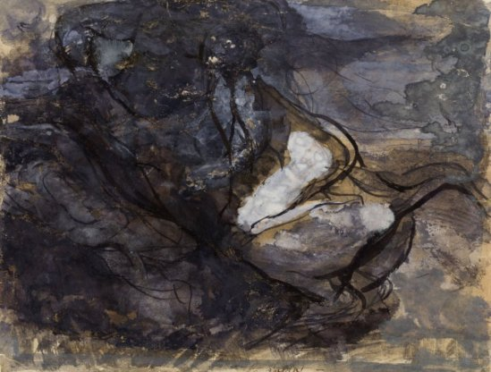 auguste-rodin-the-witches-sabbath-gouache-with-pen-and-black-ink